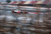 February 21, 2013 - Barcelona Spain. Jenson Button, Vodafone McLaren Mercedes during pre-season testing from Circuit de Catalunya.