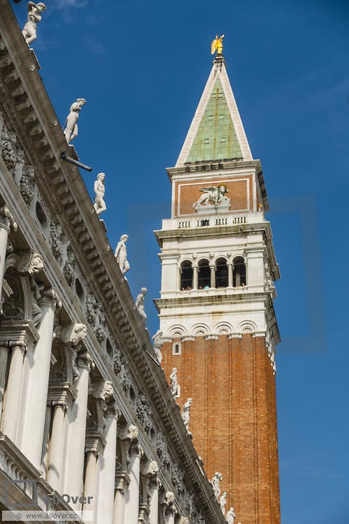 Campanile, Piazza San Marco, Venice, Venetia, Italy