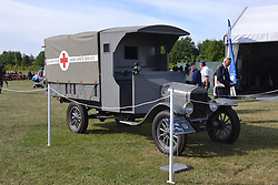 MOTOR MODEL T FORD BELGIUM FIELD AMBULANCE, Centenary of Passchendaele 100 years, 1st August 2017