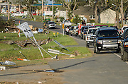 April 28, 2014 - Vilonia, Arkansas, U.S. -<br /> <br /> Killer Tornadoes Rip Through Arkansas And Oklahoma<br /> <br /> People search through tornado damage in the small town of Vilonia in central Arkansas' Faulkner county Monday morning after a tornado tore an 80-mile path from Ferndale to El Paso Arkansas Sunday night. Tornado season has gotten off to a deadly start as tornadoes ripped through south-central United States on Monday leaving whole neighbourhoods destroyed and at least 17 people killed in Arkansas. It's the year's worst tornado outbreak so far, with meteorologists listing 31 tornado reports on Sunday alone. <br /> ©Exclusivepix
