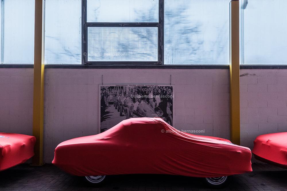 Milano , il collezionista di auto d'epoca Corrado Lopresto.