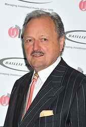© Licensed to London News Pictures. 07/02/2012.  England. Peter Bowles attends the Oldies of the year Awards at Simpsons hotel in the Strand London Photo credit : ALAN ROXBOROUGH/LNP
