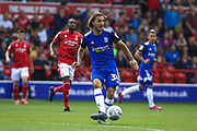 Ivan Šunjić (34) during the EFL Sky Bet Championship match between Nottingham Forest and Birmingham City at the City Ground, Nottingham, England on 17 August 2019.