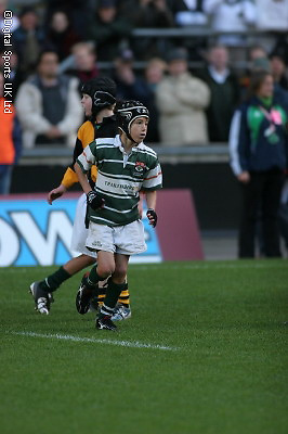 Mini Madness Rugby Festival, before the Barbarians v South Africa match..Action Images..