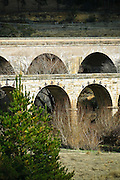 Old stone railway bridge near Lithgow, NSW,Australia