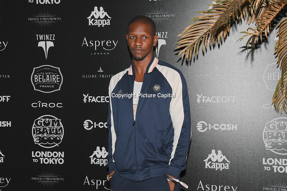 Giggs attend the Official launch party for the annual Gumball 3000 Rally took place at Proud Embankment on August 4 2018, London, UK.