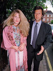 MR & MRS IMRAN KHAN she is the daughter of the late Sir James Goldsmith, at a party in London on 30th June 1999.MTY 118