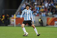 Fotball<br /> VM 2010<br /> Foto: Dppi/Digitalsport<br /> NORWAY ONLY<br /> <br /> FOOTBALL - FIFA WORLD CUP 2010 - 1/4 FINAL - ARGENTINA v TYSKLAND - 3/07/2010<br /> JAVIER PASTORE (ARG)