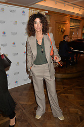 COUNTESS ISIS MONTEVERDE at the 3rd annual Gynaecological Cancer Fund Ladies Lunch at Fortnum & Mason, 181 Piccadilly, London on 29th September 2016.