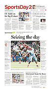 The Dallas Morning News - Sports Day 2, CC1 II, December 2, 2012.