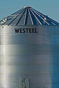 Grain bin. Hazelridge, Manitoba