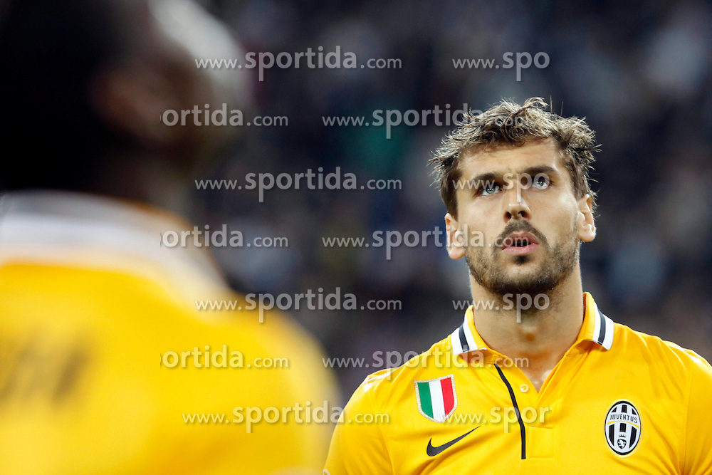 23.10.2013, Estadio Santiago Bernabeu, Madrid, ESP, UEFA CL, Real Madrid vs Juventus Turin, Gruppe B, im Bild Fernando Llorente of Juventus // Fernando Llorente of Juventus during UEFA Champions League group B match between Real Madrid and Juventus Turin at the Santiago Bernabeu in Madrid, Spain on 2013/10/23. EXPA Pictures &copy; 2013, PhotoCredit: EXPA/ Alterphotos/ CARO MARIN<br /> <br /> *****ATTENTION - OUT of ESP, SUI*****