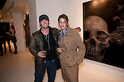 MARK EVANS; TRACEY EMIN, Mark Evans private view. Scream Gallery. Bruton st. London. 19 March 2010