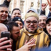 20160330 Koning Marokko in Amsterdam