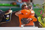 Jeroen Dubbeldam and Zenith SFN World Champion Individual Jumping<br /> Alltech FEI World Equestrian Games™ 2014 - Normandy, France.<br /> DigiShots - Jon Stroud