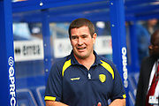 Burton Albion manager Nigel Clough during the EFL Sky Bet Championship match between Queens Park Rangers and Burton Albion at the Loftus Road Stadium, London, England on 23 September 2017. Photo by John Potts.