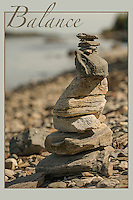 Cairn along Odiorne Beach  Rye, NH.  ©˙2016 Karen Bobotas Photographer