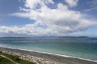 Admiralty Inlet Washington. Viewed from Fort Casey State Park on Whidbey Island