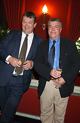 Left to right, chef ROWLEY LEIGH and SIMON HOPKINSON at the presentation of a Chevalier dans l'ordre de la LŽgion d'Honneur to chef Albert Roux held at Le Gavroche, 43 Upper Brook Street, London on 9th September 2005.<br /><br />NON EXCLUSIVE - WORLD RIGHTS