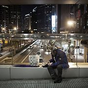 Hong Kong has more than 7 million inhabitants, most live in tower blocks in cramped conditions.