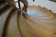 Albrechtsburg, innen, Wendeltreppe, Treppenhaus, Meißen, Sachsen, Deutschland.|.Albrechtsburg, interior, staircase, Meissen, Saxony, Germany.