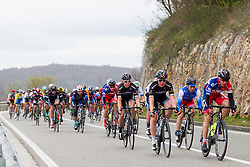 Peleton during the 158km long 1st stage from Porec to Labin at 13th Istrian Spring Trophy on March 11, 2016, Croatia. Photo by Urban Urbanc / Sportida