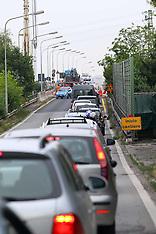 20120620 TRAFFICO PER LAVORI AL PONTE DI VIA DEL LAVORO