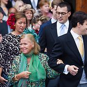 NLD/Apeldoorn/20130105 - Huwelijk prins Jaime en prinses Viktoria Cservenyak, prinses Christina en Bernardo