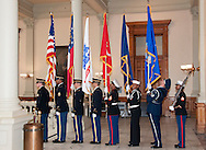 Vietnam Veterans Day in Georgia - A tribute to Georgia Vietnam Medal of Honor Recipients, Atlanta, Georgia - oint Honor Guard, Georgia Department of Defense.