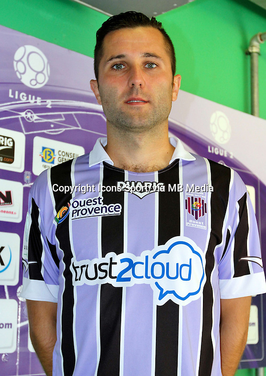 Alexis ALLART - 17.09.2013 - Photo Officielle Istres - Ligue 2<br /> Photo : Icon Sport