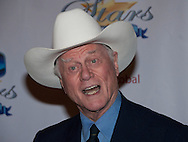 """LARRY HAGMAN.who starred in the hit TV series Dallas as the scheming oil baron J R Ewing, has died at the age of 81..Dallas, which made its premiere on the CBS network in 1978, made Hagman a superstar..The show quickly became one of the network's top-rated programmes, built an international following and inspired a spin-off, imitators and a revival in 2012. Earlier this year he appeared in a new 10-episode series of Dallas, with a second series in production and due to run next year..His family said in a statement that the 81-year-old died in a Dallas hospital following complications from his battle with throat cancer on Friday..He had suffered from liver cancer and cirrhosis of the liver in the 1990s after decades of drinking...LARRY HAGMAN.The 20th Annual Night of 100 Stars Black Tie Dinner Viewing Gala Beverly Hills Hotel, CA, 7/03/2010.Mandatory Photo Credit: © Andrew BeardNewspix International..**ALL FEES PAYABLE TO: """"NEWSPIX INTERNATIONAL""""**..PHOTO CREDIT MANDATORY!!: NEWSPIX INTERNATIONAL(Failure to credit will incur a surcharge of 100% of reproduction fees)..IMMEDIATE CONFIRMATION OF USAGE REQUIRED:.Newspix International, 31 Chinnery Hill, Bishop's Stortford, ENGLAND CM23 3PS.Tel:+441279 324672  ; Fax: +441279656877.Mobile:  0777568 1153.e-mail: info@newspixinternational.co.uk"""