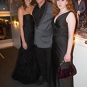 NLD/Hilversum/20131125 - Inloop Musical Awards Gala 2013, Linde van den Heuvel en Hajo Bruins en .....