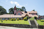 Colonial style architecture of Post Office building, Nuwara Eliya, Central Province, Sri Lanka, Asia