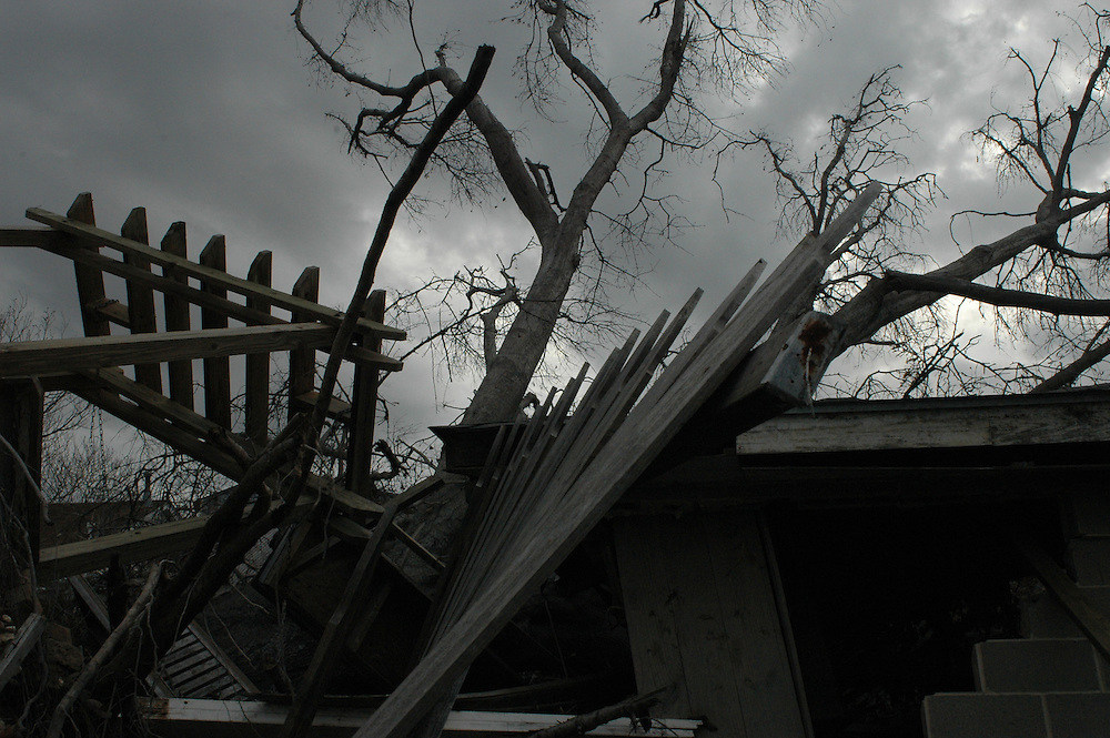 Destroyed home in N.O.