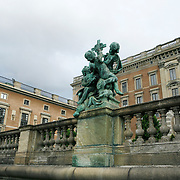 The Royal Palace, the official residence of His Majesty the King of Sweden, with over 600 rooms.<br /> Jose More Photography