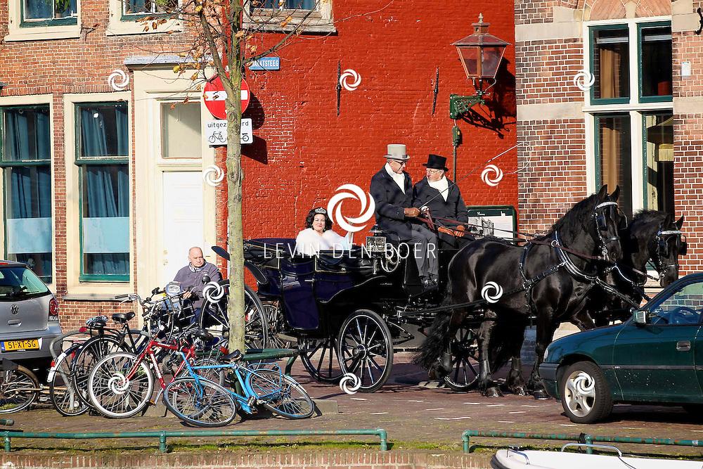 LEIDEN - In de Leidse schouwburg is de perspresentatie van De Zangeres Zonder Naam gehouden.  Met op de foto Ellen Pieters als Mary Servaes. FOTO LEVIN DEN BOER - PERSFOTO.NU