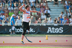 SVEINSSON Helgi, ISL, Javelin, F42, 2013 IPC Athletics World Championships, Lyon, France
