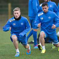St Johnstone Training....20.12.13<br /> David Wotherspoon pictured in training today ahead of tomorrow's game at Hibs.<br /> Picture by Graeme Hart.<br /> Copyright Perthshire Picture Agency<br /> Tel: 01738 623350  Mobile: 07990 594431