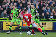 Forest Green Rovers Carl Winchester(7) runs forward during the EFL Sky Bet League 2 match between Forest Green Rovers and Walsall at the New Lawn, Forest Green, United Kingdom on 8 February 2020.