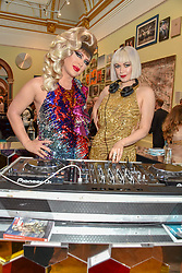 Jodie Harsh and Amazonica at The Royal Academy of Arts Summer Exhibition Preview Party 2019, Burlington House, Piccadilly, London England. 04 June 2019.