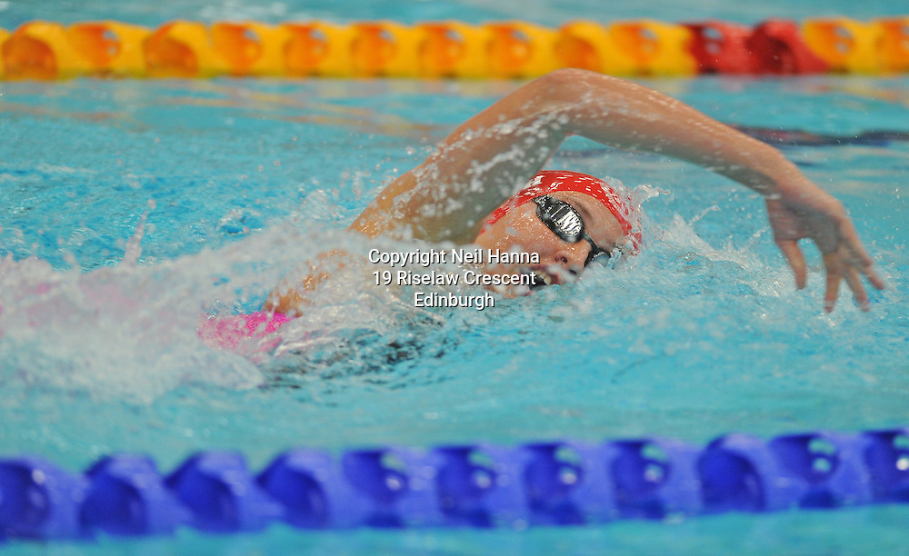 Royal Commonwealth Pool, Edinburgh<br /> Scottish Summer Meet - Sunday 26th July 2015-Day 3 Sunday Finals<br /> <br /> Event 308 Girls 15-18 200m Freestyle<br /> <br /> Katy Smith<br /> <br />  <br /> <br /> Neil Hanna Photography<br /> www.neilhannaphotography.co.uk<br /> 07702 246823