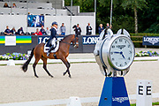 Kristine Moller - Standing O'vation<br /> Longines FEI/WBFSH World Breeding Dressage Championships for Young Horses 2017<br /> © DigiShots