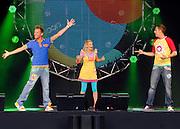 UNITED KINGDOM-LONDON.  Hi-5 perform at Skyfest 2010. 16/07/2010. STEPHEN SIMPSON...