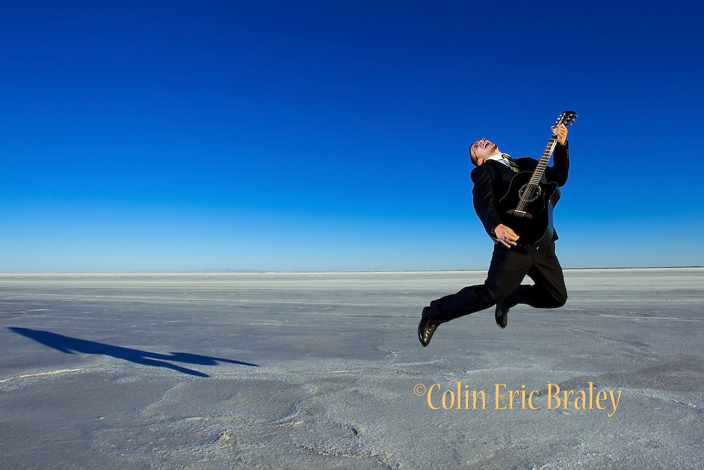 Bonneville Salt Flats Portrait.  ©COLIN E BRALEY