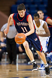 November 30, 2009; San Jose, CA, USA;  Saint Mary's Gaels forward Clint Steindl (11) steals the ball against the San Jose State Spartans during the first half at the Event Center Arena.  Saint Mary's defeated San Jose State 78-71.