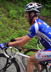 Grega Bole of Slovenia Adria Mobil) during 3rd stage of the 15th Tour de Slovenie from Skofja Loka to Krvavec (129,5 km), on June 13,2008, Slovenia. (Photo by Vid Ponikvar / Sportal Images)/ Sportida)