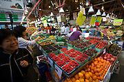 Granville Island Market. Fruit.