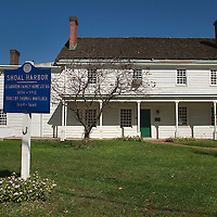 (PFEATURES)  Port Monmouth 10/12/2004  Exterior of the Spy House Museum in Port Monmouth section of Middletown Twp.   Michael J. Treola Staff Photographer....MJT
