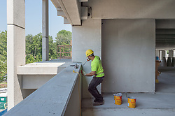 Bridgeport Hospital - Park Avenue Campus Outpatient Center<br /> Architect: Shepley Bulfinch  Contractor: Gilbane Building Company, Glastonbury, CT.<br /> James R Anderson Photography   New Haven CT   photog.com<br /> Date of Photograph: 7 July 2014