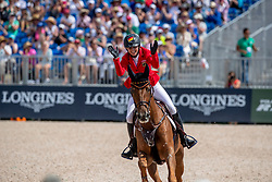 BLUM Simone (GER), DSP Alice<br /> Tryon - FEI World Equestrian Games™ 2018<br /> FEI World Individual Jumping Championship<br /> Third cometition - Round B<br /> 3. Qualifikation Einzelentscheidung 1. Runde<br /> 23. September 2018<br /> © www.sportfotos-lafrentz.de/Dirk Caremans